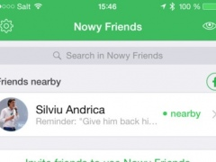 Nowy Friends - Know when your friends are nearby 1.6 Screenshot