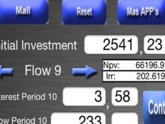 NPV & IRR Calculator 2.1.1 Screenshot