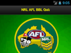 NRL AFL BBL Quiz 1.0 Screenshot