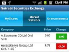 NSE Market Statistics 1.0 Screenshot