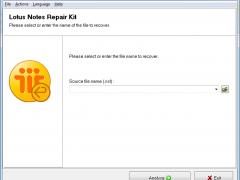 NSF Repair Kit 2.2.7 Screenshot