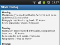 NTNU middag 1.0 Screenshot