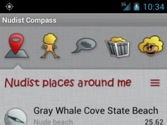 Nudist Compass 1.57 Screenshot