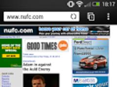 NUFC - nufc.com 1.1 Screenshot