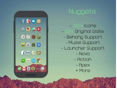 Nuggets Icon Pack 1.0.9 Screenshot