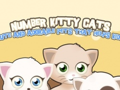 Number Kitty Cats : Cute and Adorable pets that helps kids. 1.0.4 Screenshot