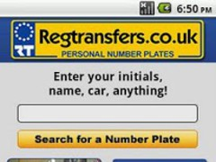 Number Plates Search  Screenshot