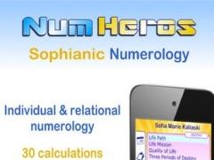 NumHéros - Sophianic Numerology Numérologie Sophianique 1.2 Screenshot