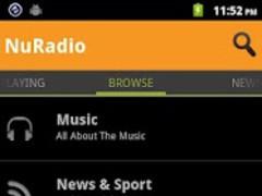 NuRadio 1.0.13 Screenshot