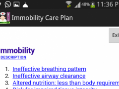 Nurse care plan Immobility 10 Screenshot