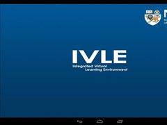 NUS IVLE 7.4 Screenshot