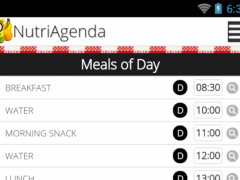 NutriAgenda 3.4.0 Screenshot