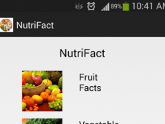 NutriFact 1.0 Screenshot