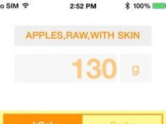 Nutrismart Smart Food Scale 1.2 Screenshot