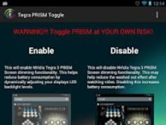 NVidia Tegra PRISM Toggle 1.0.5 Screenshot