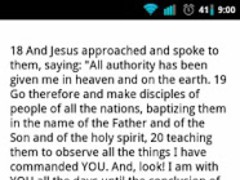 NWT Scriptures 1.0 Screenshot