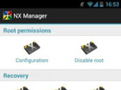 NX Manager 1.8.5 Screenshot