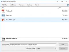 NXPowerLite Desktop 7.1.5 Screenshot