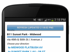 NYC Mta Bus Tracker 3.0 Screenshot