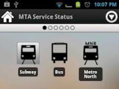 NYC Transit Status 1.1 Screenshot