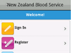 NZ Blood Service 2.4 Screenshot