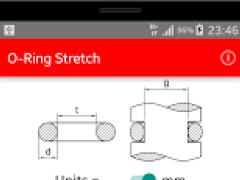 O-Ring Stretch Calculator 1.0 Screenshot