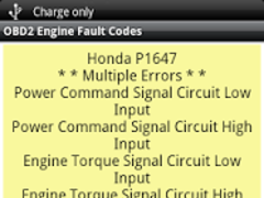OBD2 Check Engine Fault Codes 2 1 5 Free Download