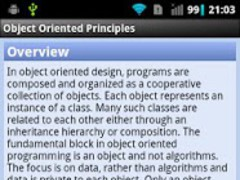 Object Oriented Principles 1.0.0 Screenshot