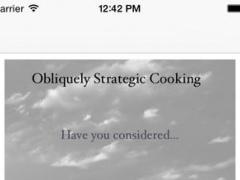 Obliquely Strategic Cooking 0.00.01 Screenshot