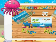Ocean Jigsaw Puzzle Mania Brain Training - Undersea Cartoon Free Puzzles For Kids 1.0.1 Screenshot