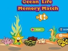 Ocean Life Memory Match 1.0 Screenshot