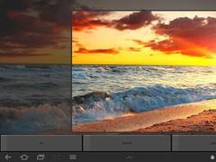 Ocean Waves Sunset Wallpaper  Screenshot