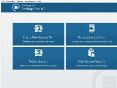 Ashampoo BackUp Pro 10 10.0 Screenshot