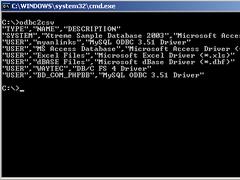 odbc2csv 1.0 Screenshot