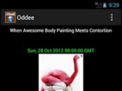 Oddee 1.1 Screenshot