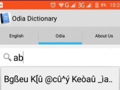 Review Screenshot - Translating Words from English to Odia Made Easy!