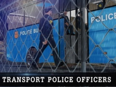 Off Road Police Bus Driving - Transport Cops with Protocol in Extreme Weather Conditions 1.3 Screenshot