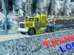 Off-road Snow Truck Transporter 3D – An Euro trailer simulation game 1.0 Screenshot