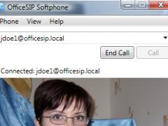 OfficeSIP Softphone 1.0.5 Screenshot