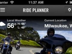 Official H-D Ride Planner 1.8 Screenshot