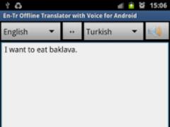 Offline Translator Turkish 2.11 Screenshot