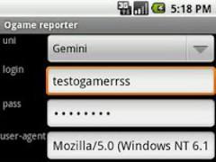 ogame reporter 1.4 Screenshot