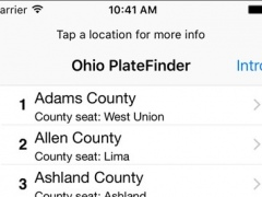 Ohio PlateFinder 1.6 Screenshot
