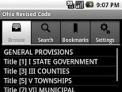 Ohio Revised Code 1.2 Screenshot