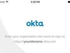 Okta Mobile 4.12.0 Screenshot