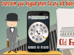 Old Fashioned Phone Dialer™ 2.5 Screenshot