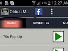 Oldies Radio 1.0 Screenshot