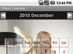 Olialia calendar 2011 1.0 Screenshot