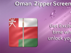 Oman Zipper ScreenLock 1.0 Screenshot