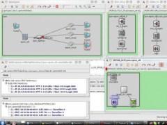 Omnet++ EPON Module  Screenshot